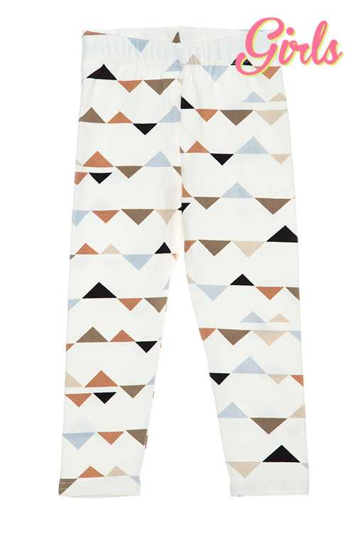Triangle Print Leggings GIRLS