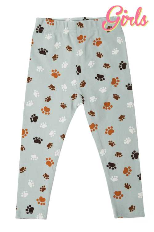 Paw Print Leggings GIRLS