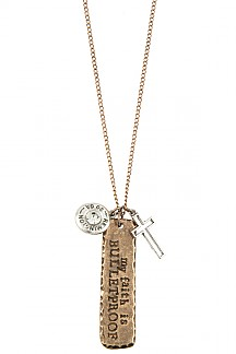MY FAITH IS BULLETPROOF NECKLACE SET
